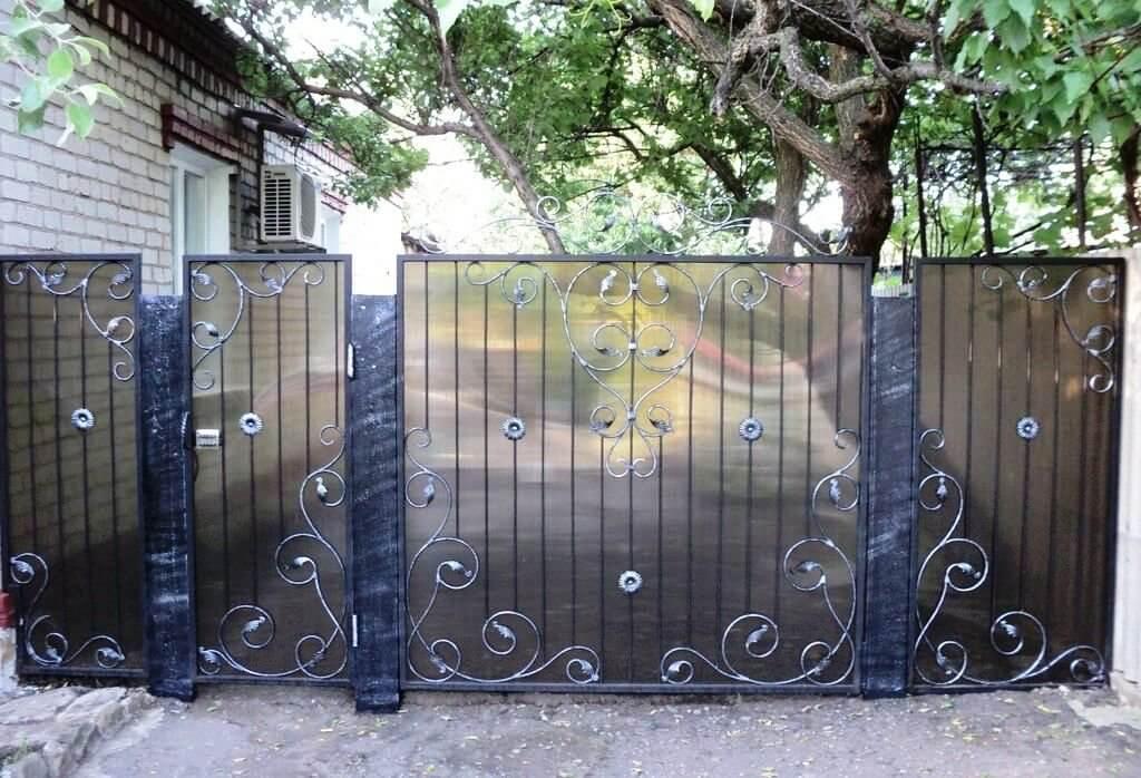 кованый забор в Таганроге