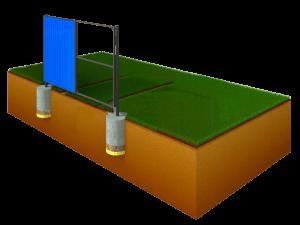 калитки и ворота в таганроге дешево цена